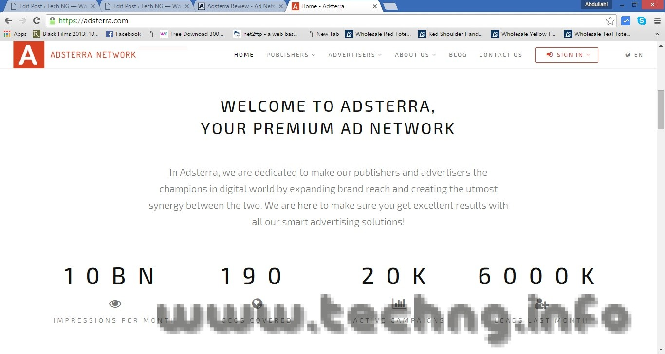 AdsTerra.com Review