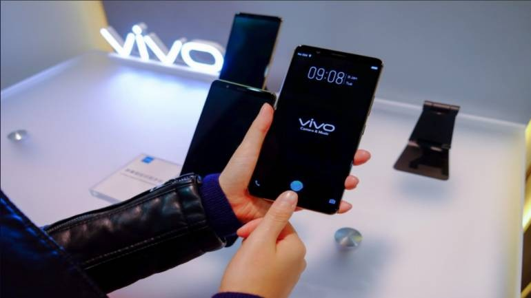 Vivo Under Display Fingerprint Scanner
