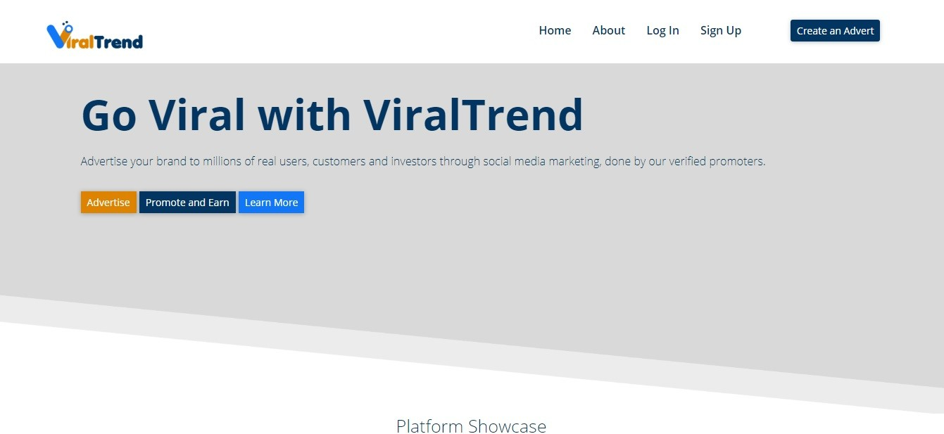 ViralTrend Website